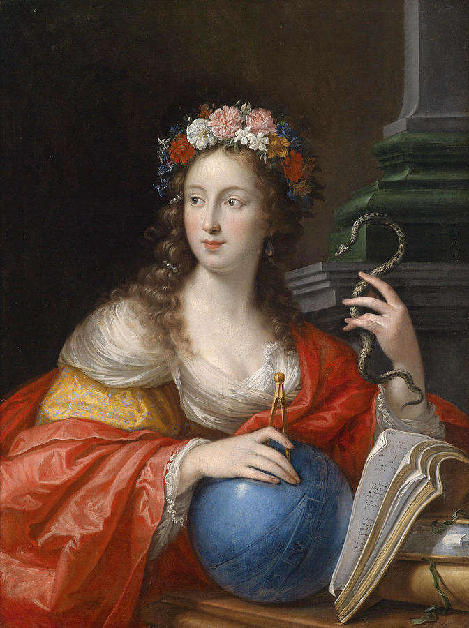 An Allegory Of Intelligence Painting by Cesare Dandini