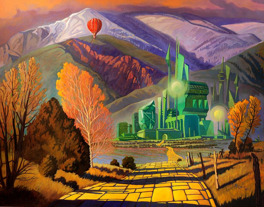Oz, An American Fairy Tale by Art West