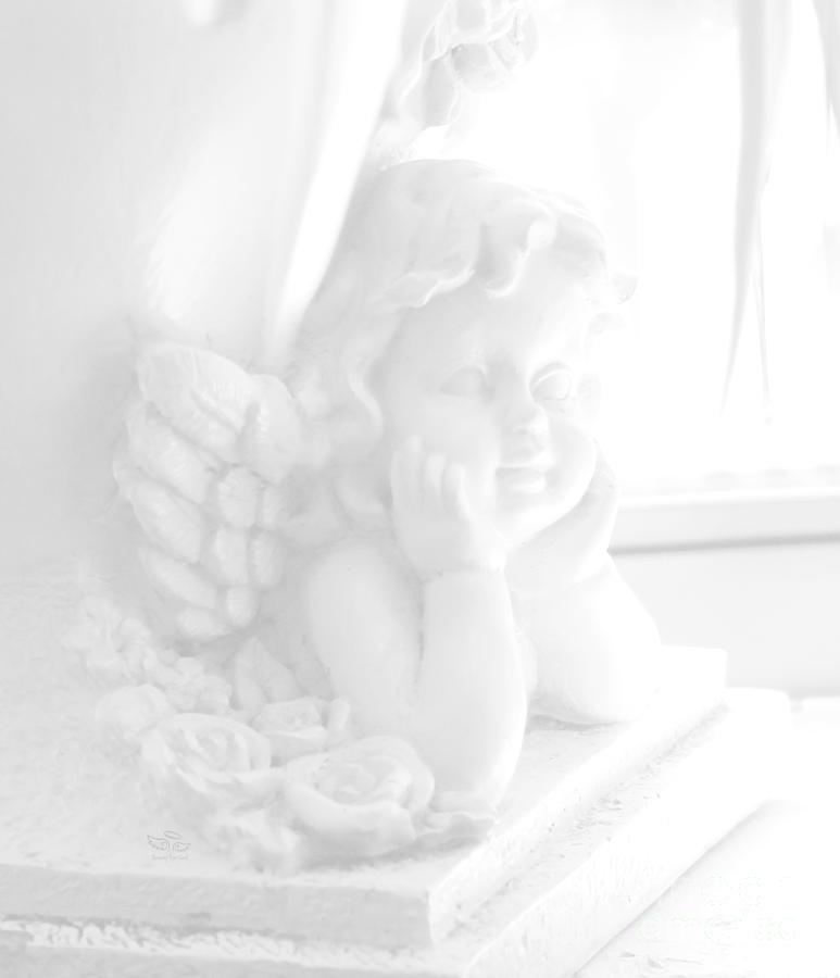 Angel Photograph - An Angel Awaits by Beauty For God