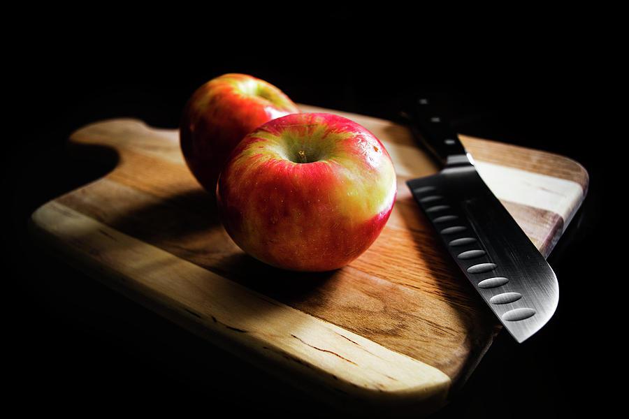 Matthew Blum Photograph - An Apple Or Two by Matthew Blum