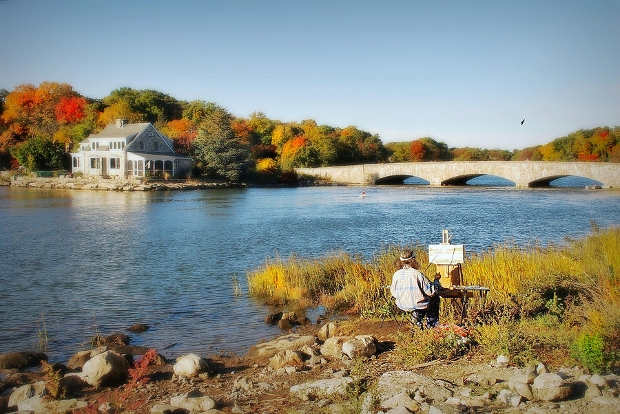 Fairfield County Connecticut Photograph - An Artists Rendering by Diana Angstadt