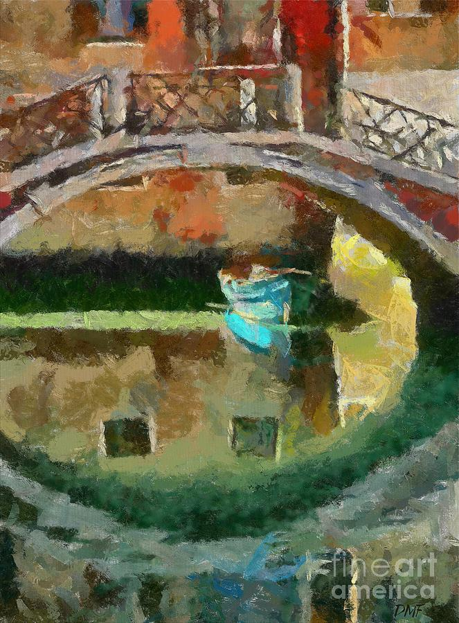 Cities Painting - An Early Morning In Venice by Dragica  Micki Fortuna