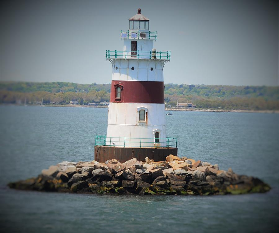 Lighthouses Photograph - Lights Out by Charles HALL