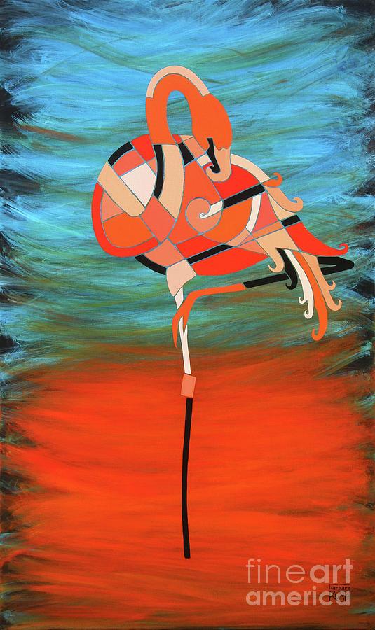 An Elegant Flamingo by Barbara Rush