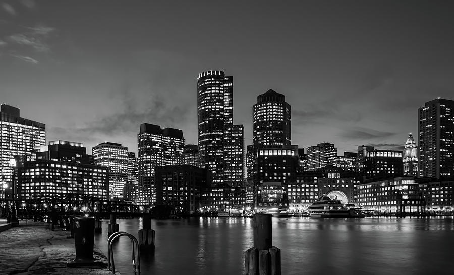 Boston Photograph - An Evening In Boston by Unsplash