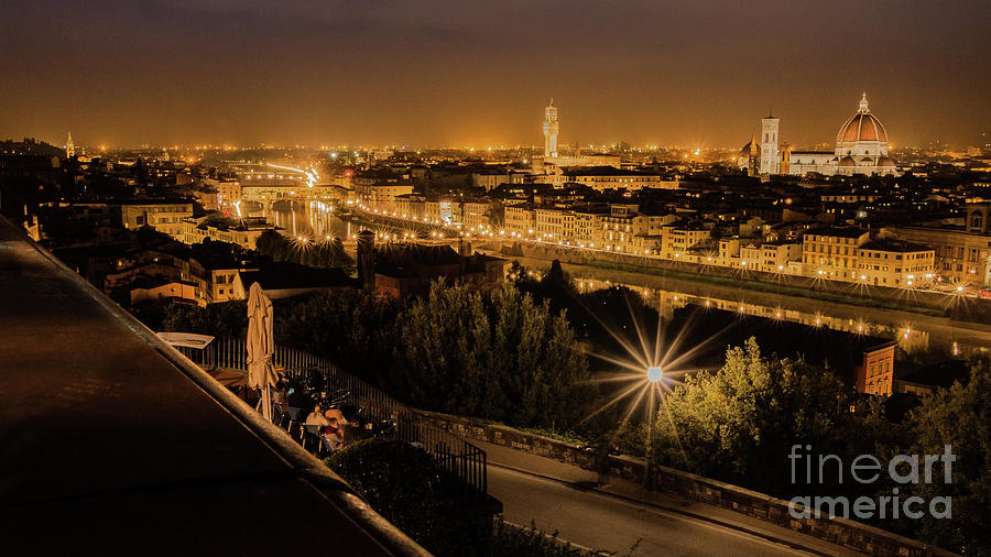 An Evening in Florence by Fabrizio Malisan