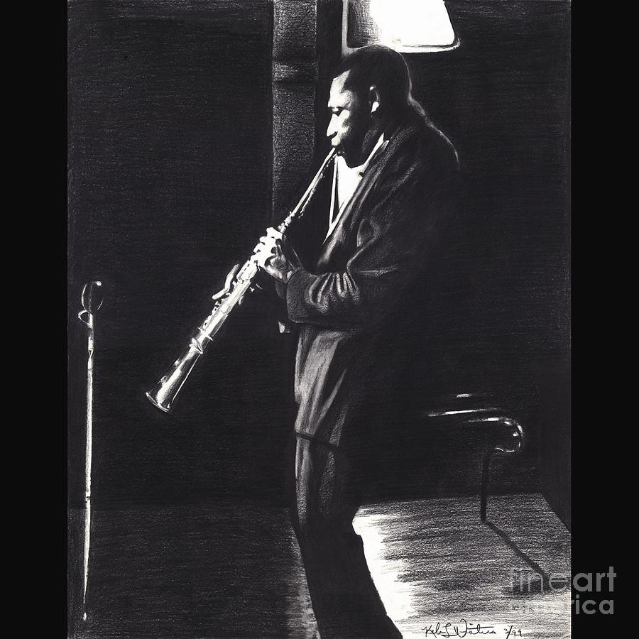 John Coltrane Painting - An Evening With Coltrane by Kelvin Winters