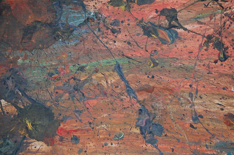 Splatter Painting - An Explosive Storm by Josh Stuller