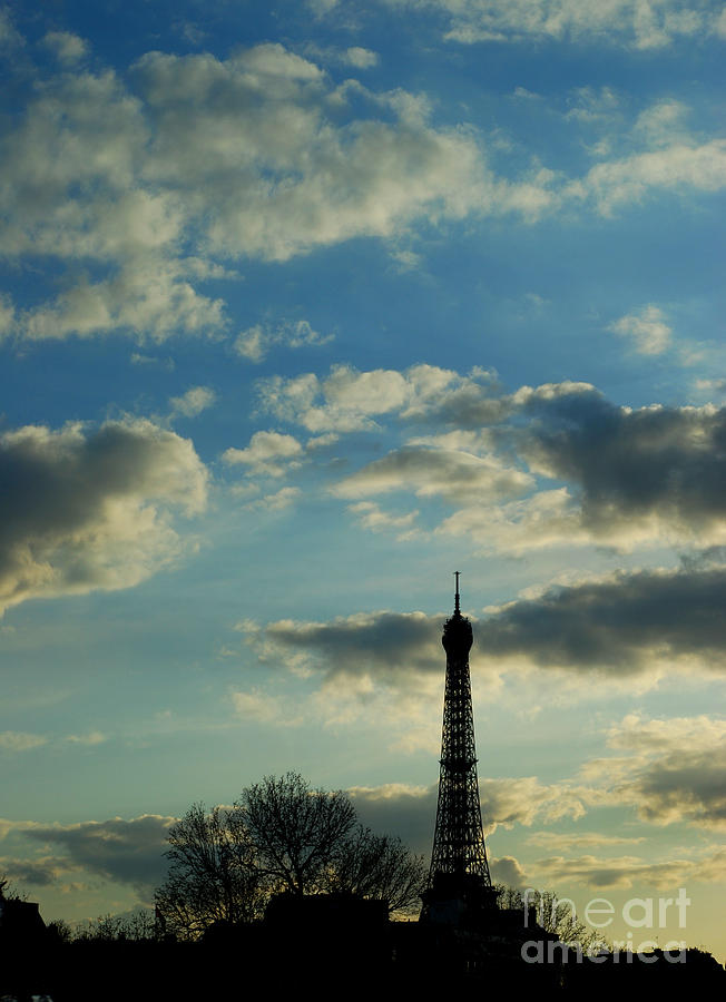 Eiffel Photograph - An Eyeful by Terri Creasy
