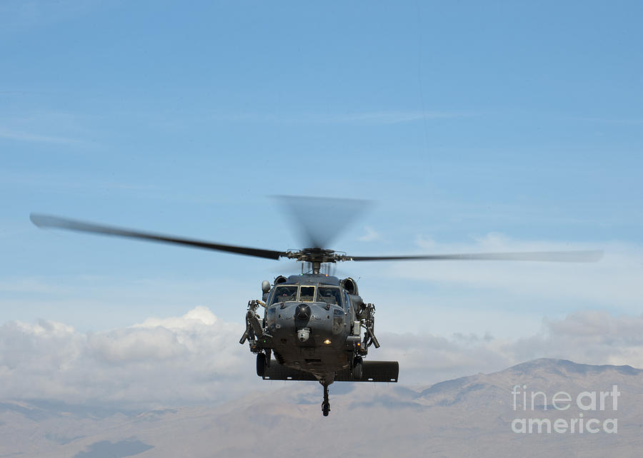 An Hh-60g Pave Hawk Painting by Celestial Images