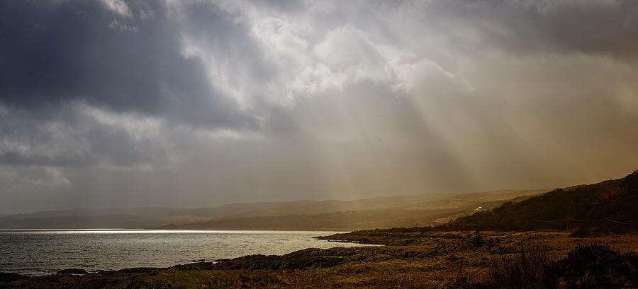 Skipness Photograph - An Hour Before Sunset at Skipness by Phillips and Phillips