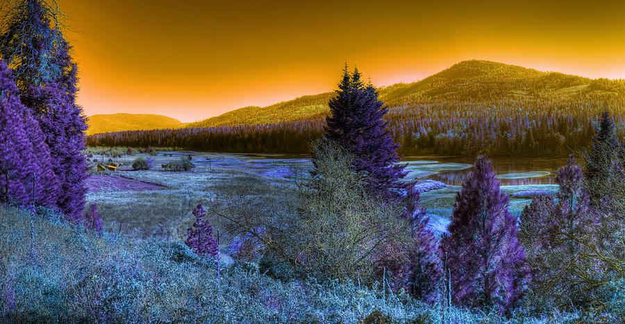 Fantasy Photograph - An Idaho Fantasy 1 by Lee Santa
