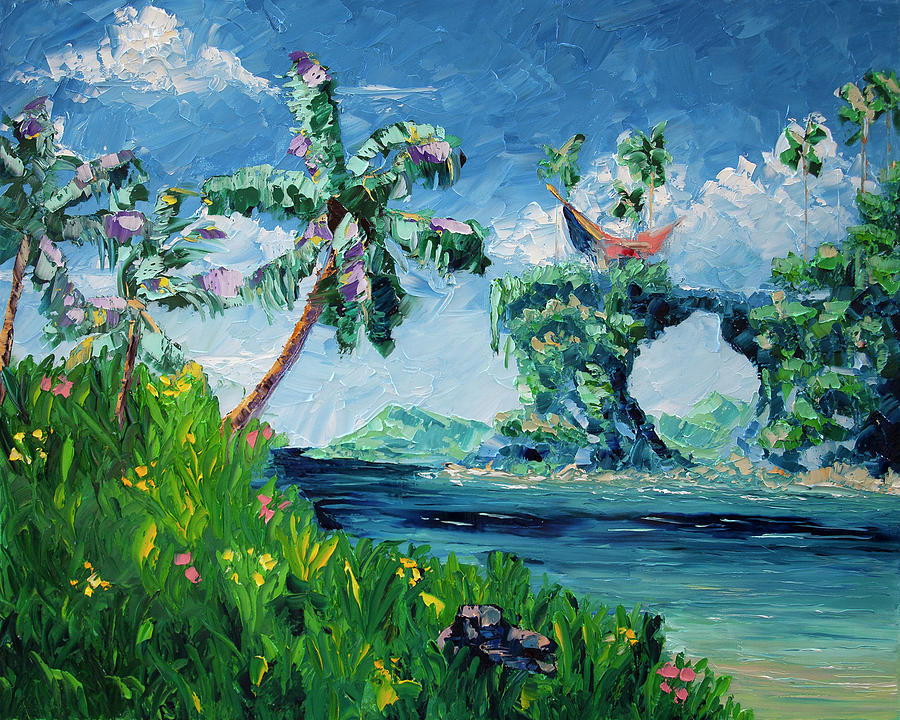 Tropical Painting - An Imperfect Compass, vol.1 by Nelson Ruger