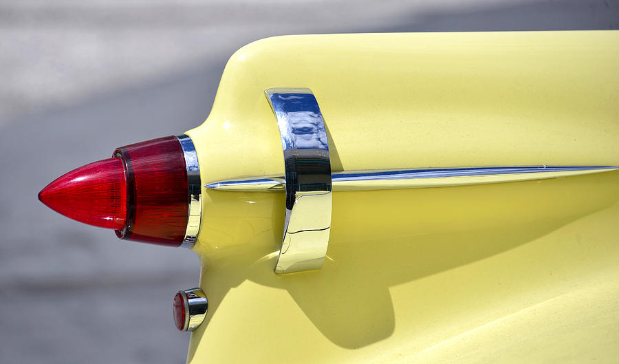 Automobile Photograph - An Imperial Tail Light by David Lee Thompson