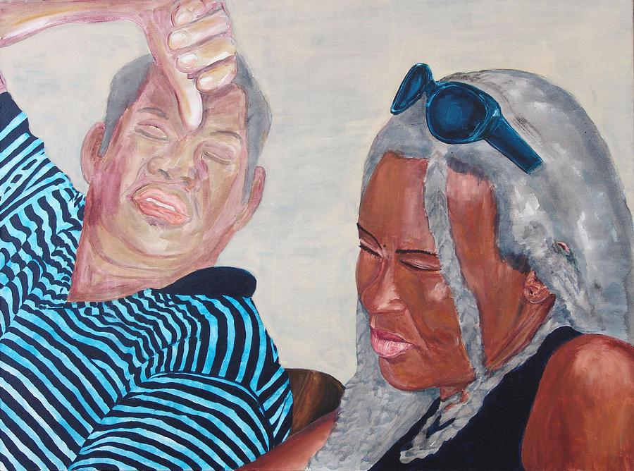 Kevin Callahan Painting - An Intimate Moment by Kevin Callahan