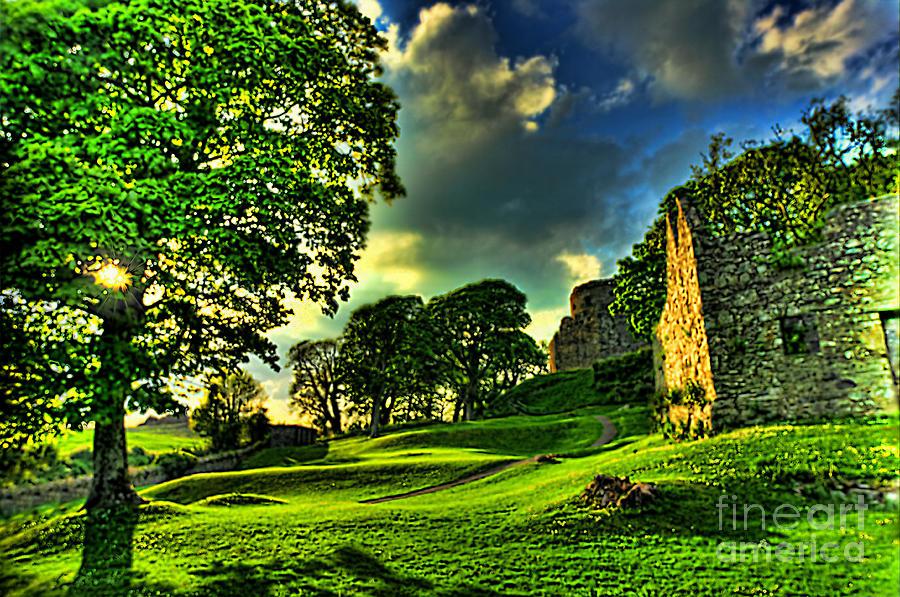 Dundrum Castle Photograph - An Irish Fantasy by Kim Shatwell-Irishphotographer