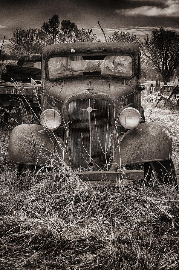 An Old Chevy truck by Dick Pratt