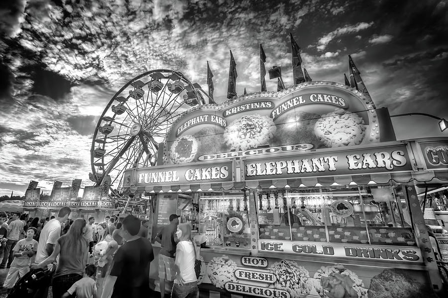 An Old Fashioned Carnival Photograph By Mark Andrew Thomas