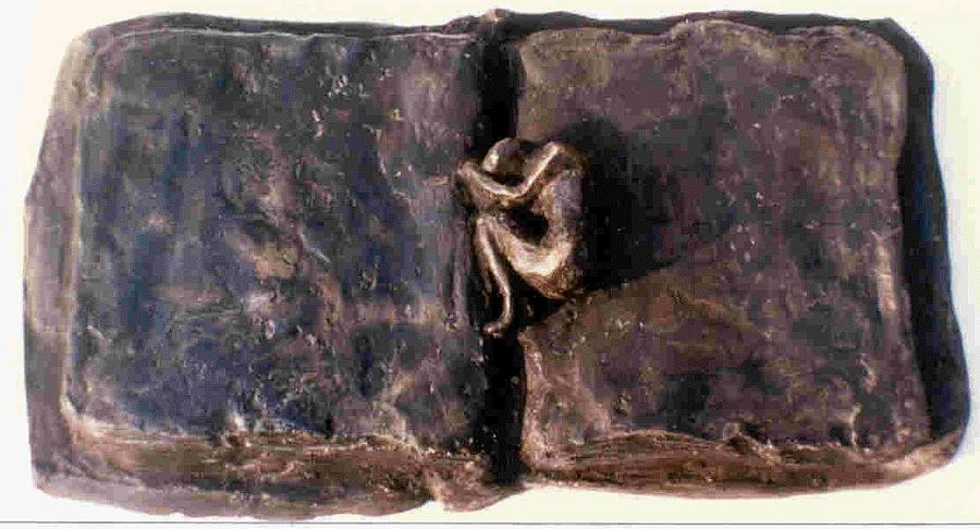 Bronze Sculpture - An Unfinished Story by Rooma Mehra