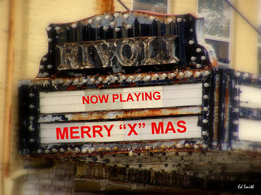 Theater Photograph - An X Rated Holiday by Ed Smith