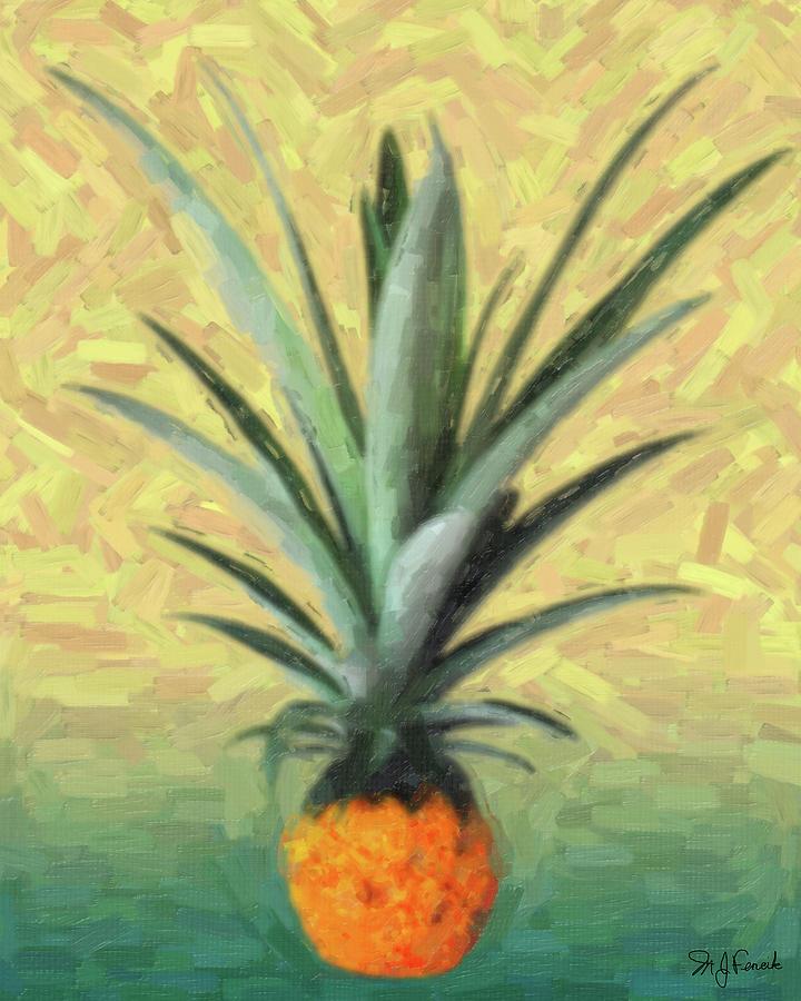 Ananas comosus by Michael Fencik