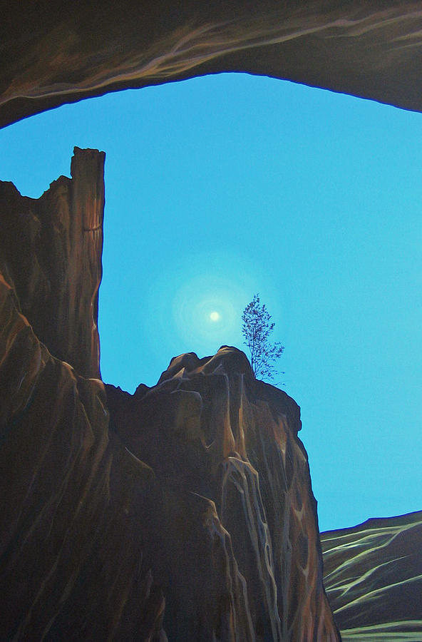 New Mexico Painting - Anasazi Dreams by Hunter Jay