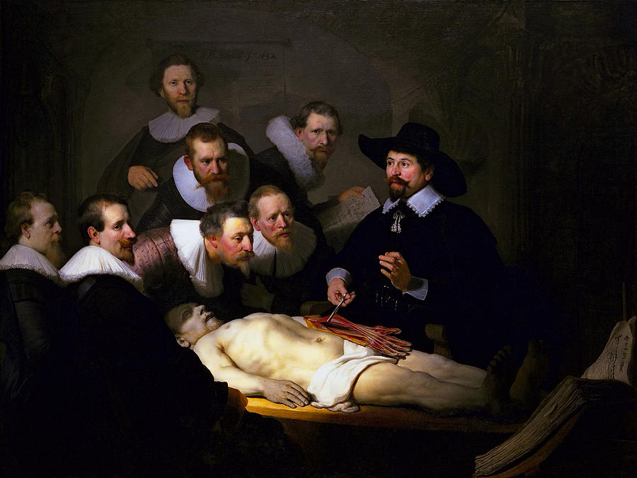 Anatomy Lesson Of Dr Nicolaes Tulp 1632 Photograph By Daniel Hagerman