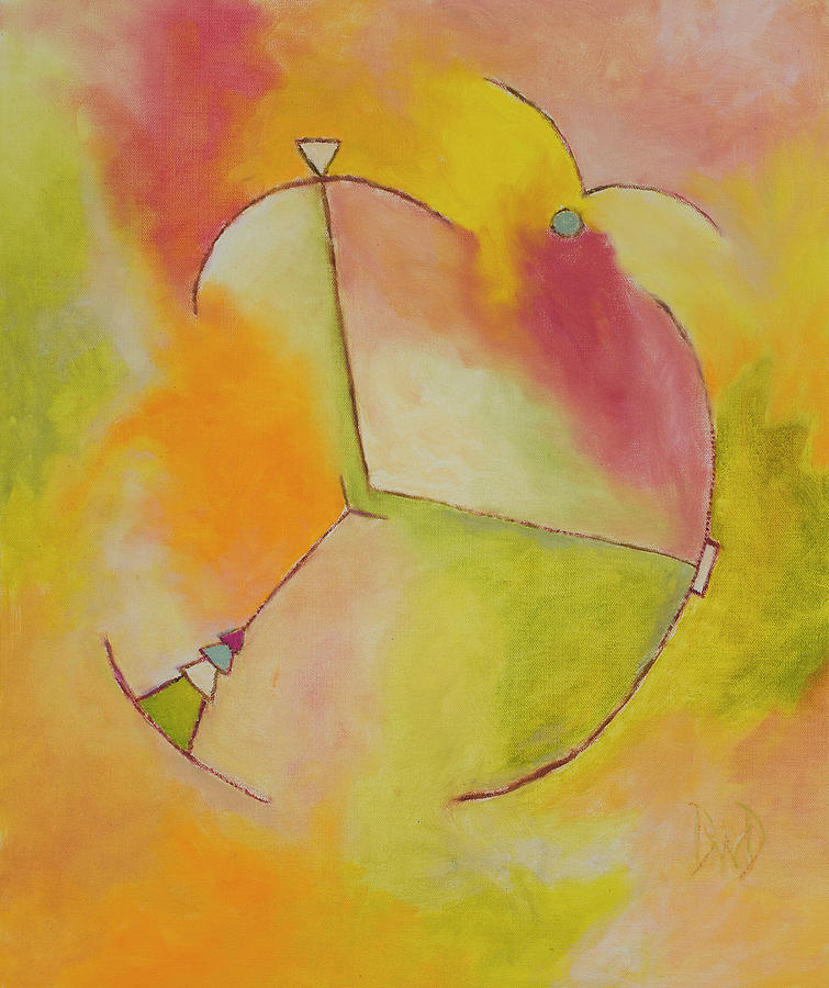 Geometric Abstracts Painting - Anchor Points 2 by David Douthat