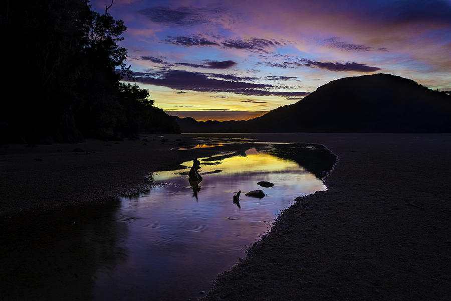 Sunrise Photograph - Anchorage Dream by Martin Capek