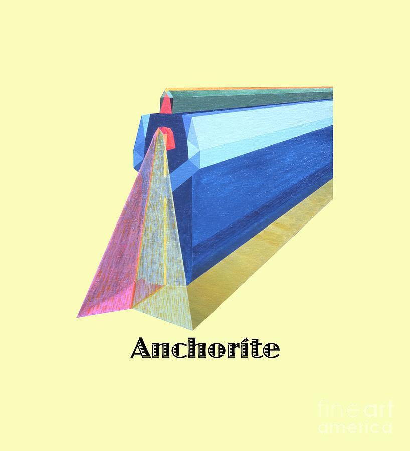 Tarot Painting - Anchorite -text by Michael Bellon