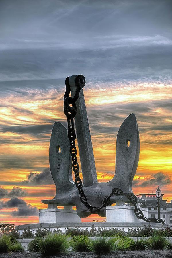 Anchors Away Photograph by Sennie Pierson