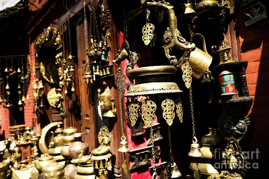 Tibet Photograph - Ancient Antiq In Kathamandu Nepal by Raimond Klavins