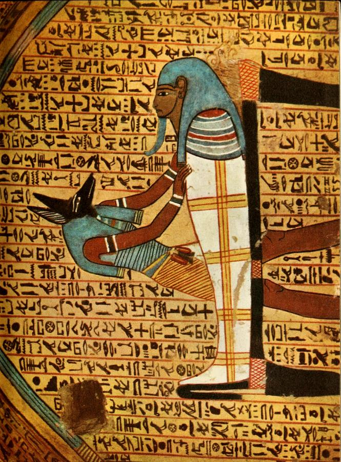 Ancient - Egyptian Wall Paintings 1956, Tomb Of Amennakht Painting ...