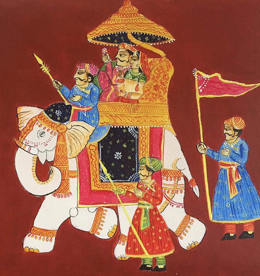 Ancient Indian Folk Art 2