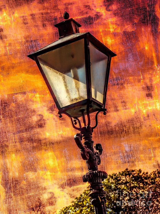 Ancient Lantern Photograph