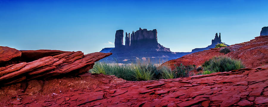 Monument Valley Photograph - Ancient Monoliths by Az Jackson