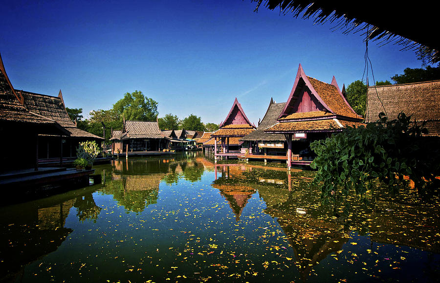 Ancient Siam Photograph - Ancient Siam Thailand by Jamie Cain