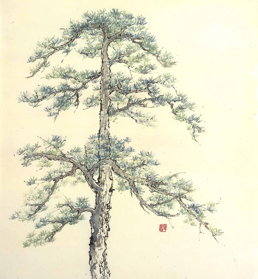 Chinese Painting Painting - ancient Sprit by Gail Racy