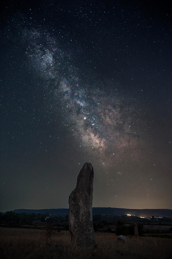 Ancient stone under the stars by Daniele Fanni