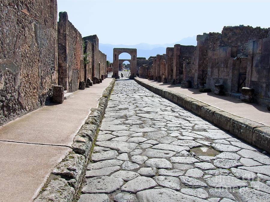 Ancient Street Photograph - Ancient Street by Lutz Baar