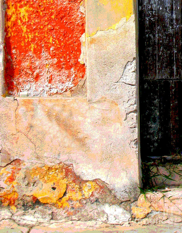 Michael Fitzpatrick Photograph - Ancient Wall 4 By Michael Fitzpatrick by Mexicolors Art Photography