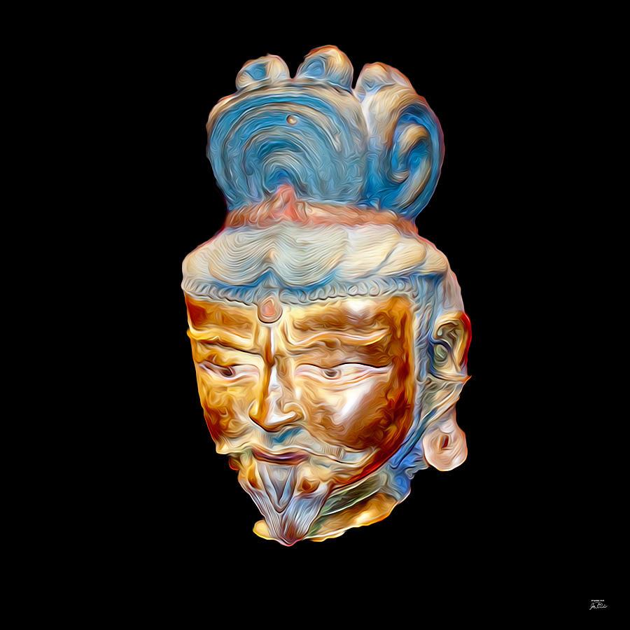 Ancient Warlord Digital Art