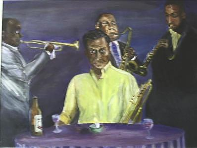 And A Little Jazz Painting by Richard Finnell