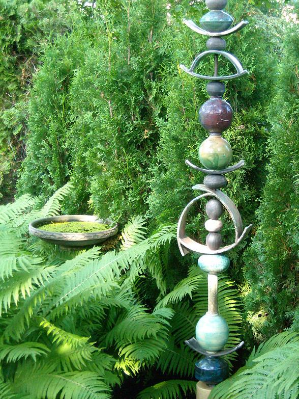Sculpture Photograph - And Sculpture Garden by Line Gagne