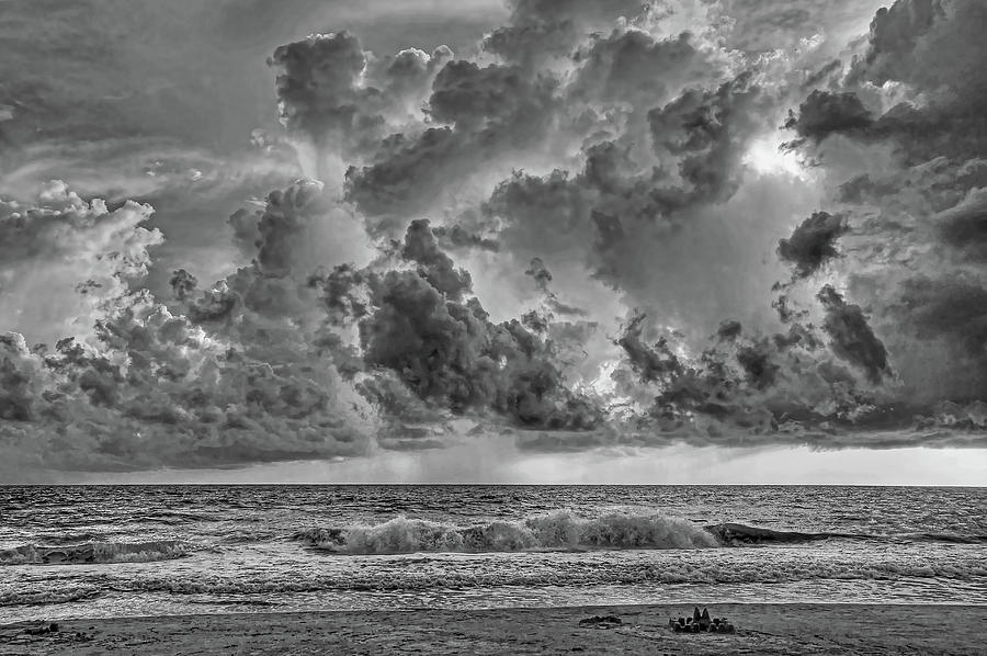 Anna Maria Island Photograph - And The Rains Came 2 - Clouds by HH Photography of Florida
