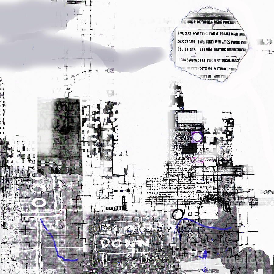 City Digital Art - And Who Took Notice 5 by Andy  Mercer