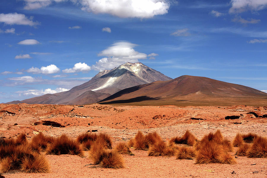 Andean Mountain Landscape Photograph
