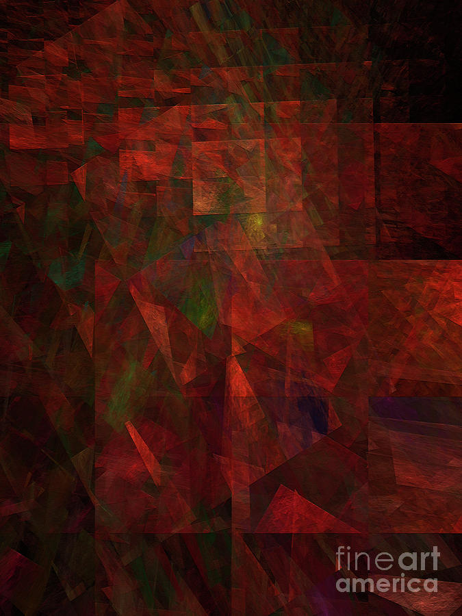 Abstract Digital Art - Andee Design Abstract 135 2017 by Andee Design