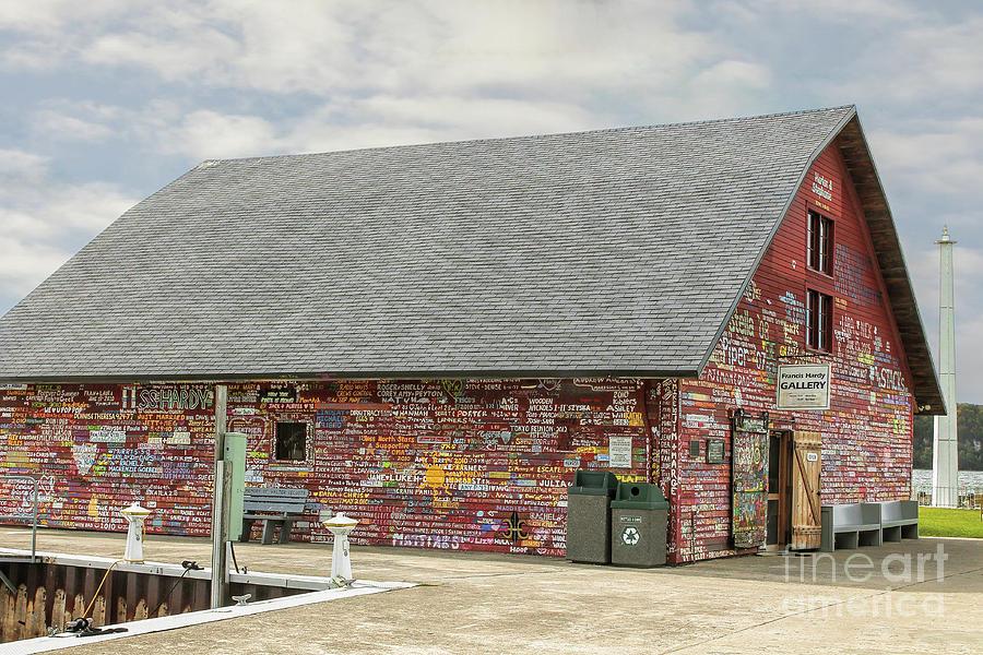 Graffiti Photograph - Anderson Dock In Ephraim Wi by Nikki Vig