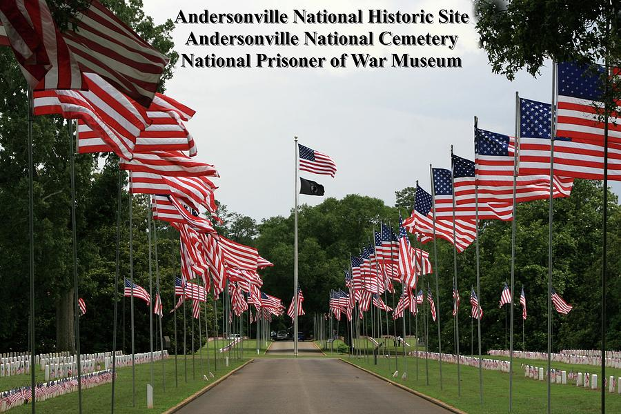 Andersonville Photograph - Andersonville National Park by Jerry Battle